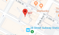 Map of New York location