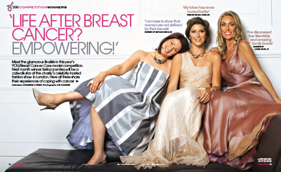 You magazine article on the Breast Cancer Care model finalists